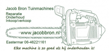 Jacob Bron Tuinmachines